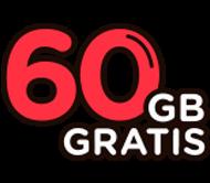 60 gigazos gratis